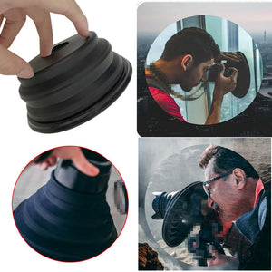 ULTIMATE CAMERA LENS HOOD - ANTI-GLARE AND REFLECTION