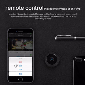 Magnetic Mini WIFI Camera With Smartphone App and Night Vision
