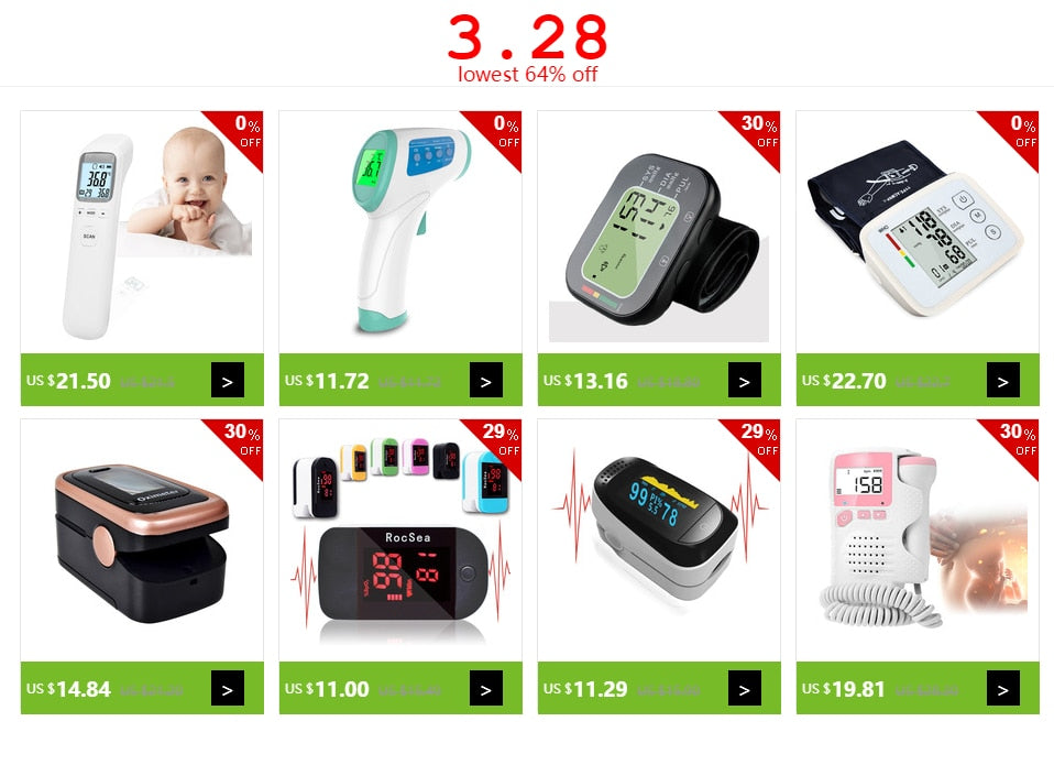 Fetal Doppler Baby Heart Rate Monitor