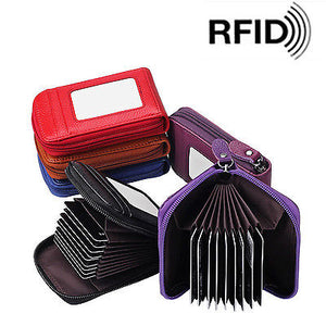 RFID Leather Card Protector