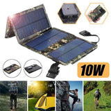 Portable Folding Solar Panel USB Charger