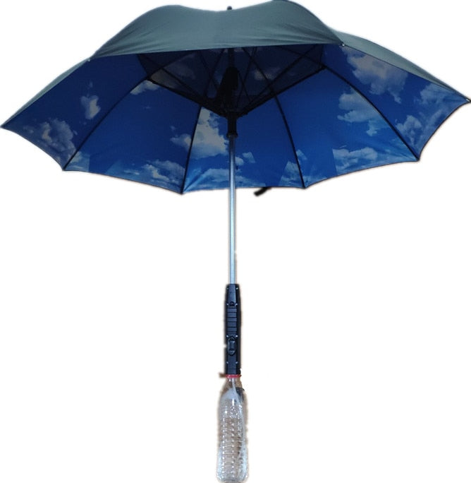 Summer Umbrella with Built-in Fan