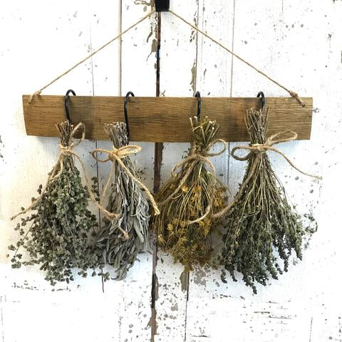 Wine Stave Herb Bouquets