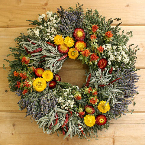 Handmade Herbal Holiday Wreaths By Creekside Farms