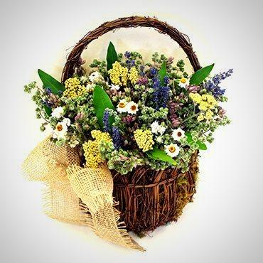 Spring Wall Basket