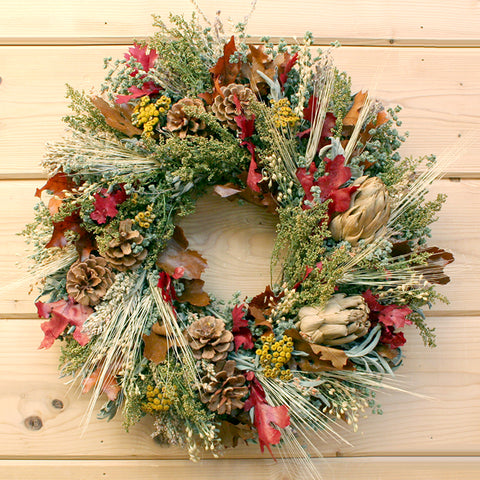 Fall Abundant Wreath