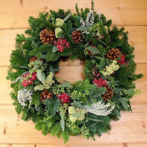 Berries & Moss Wreath