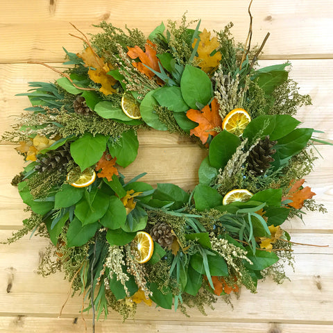 Citrus Harvest Wreath