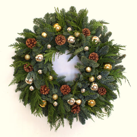 Classic Ornament Wreath
