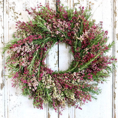 Spring Heather Wreath