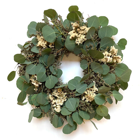 Eucalyptus and Marjoram Wreath
