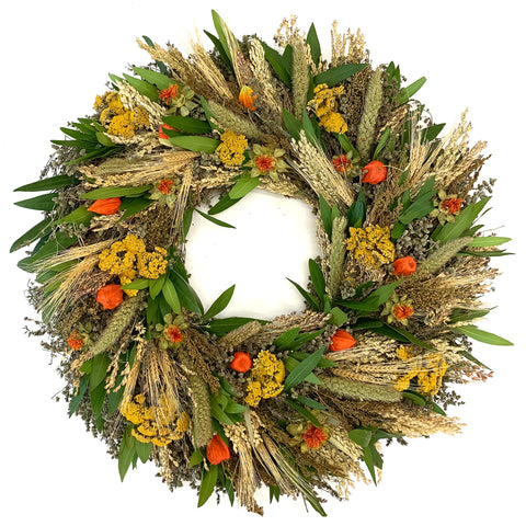 Fall Lantern Wreath