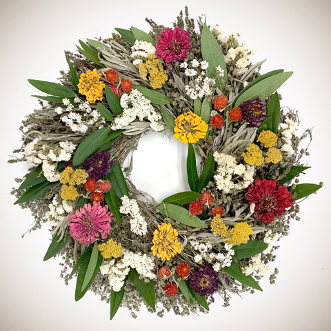 Floral Celebration Wreath
