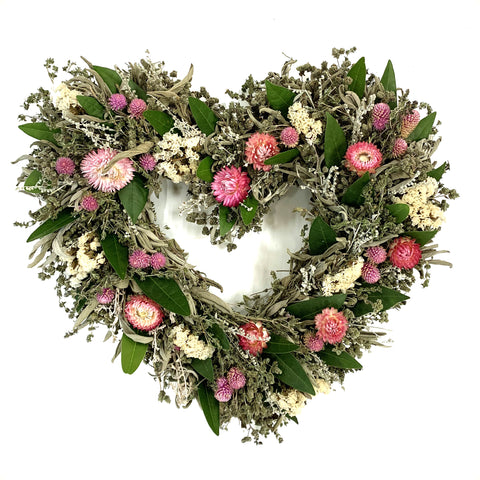 Floral Sweetheart Wreath