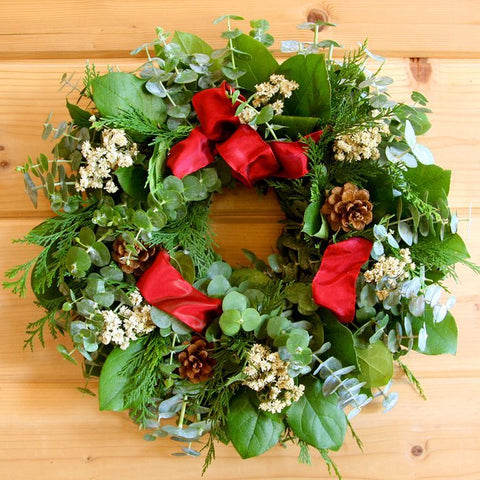 Fragrant Holiday Wreath