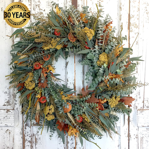 Fresh and Fragrant Anniversary Edition Wreath 30""