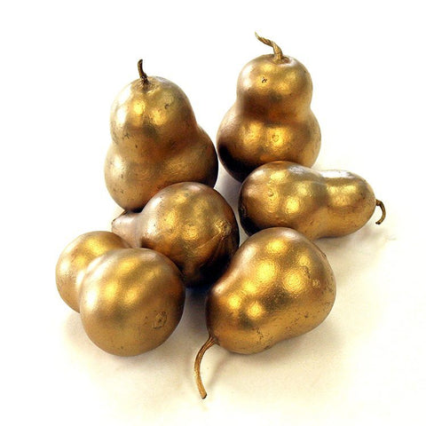 Gold Gourds (set of 6)