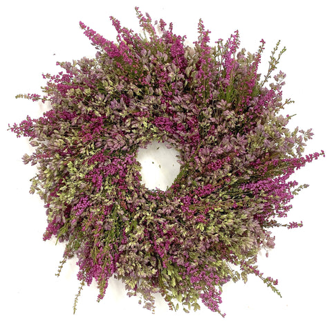 Fresh Heather & Oregano Wreath