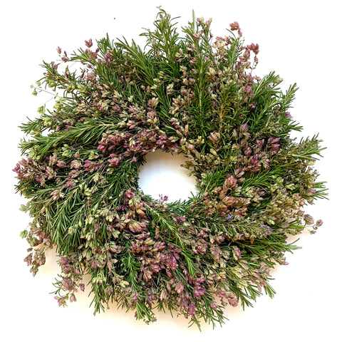 Rosemary and Oregano Wreath