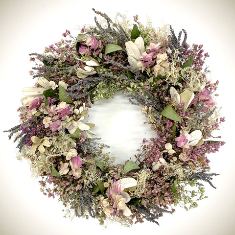 Lacy Oregano Wreath