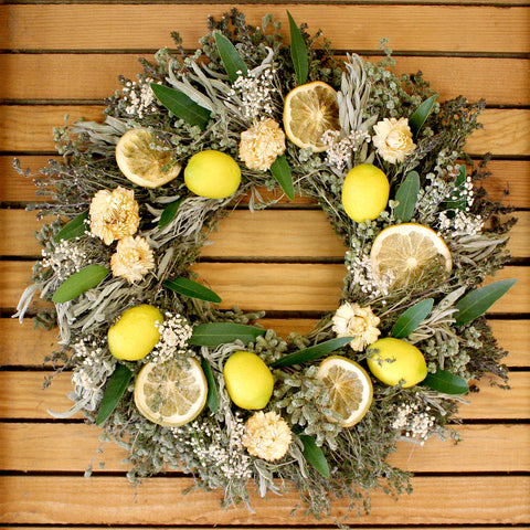 Herbal Lemon Wreath