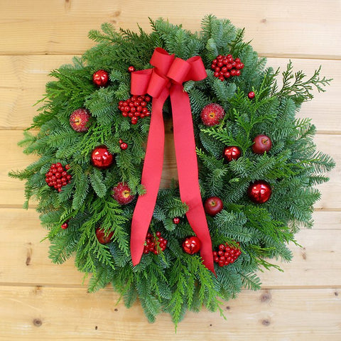 Sugared Fruit and Berries Wreath