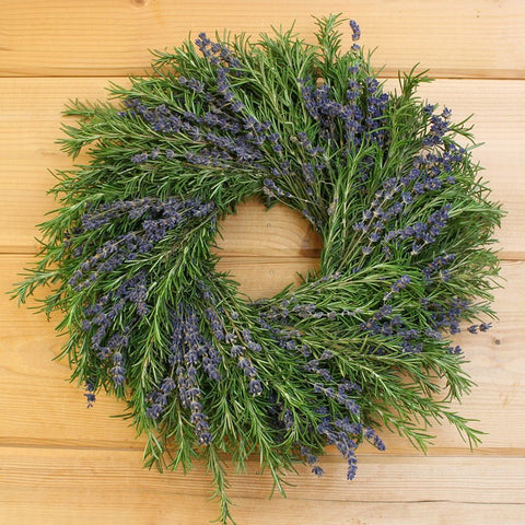 Rosemary and Lavender Wreath