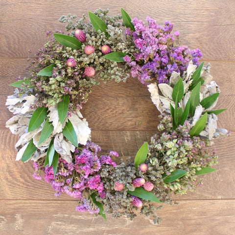 Segmented Floral Wreath