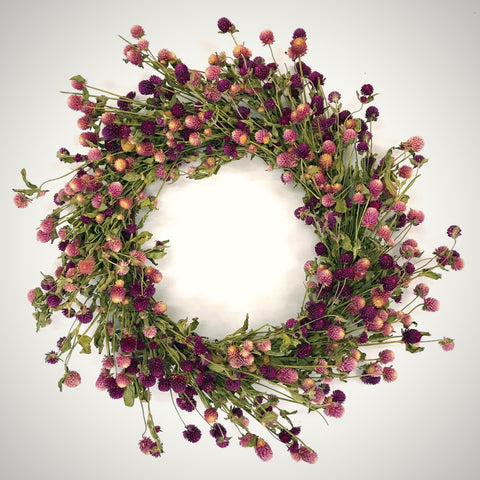 Spring Blooms Wreath
