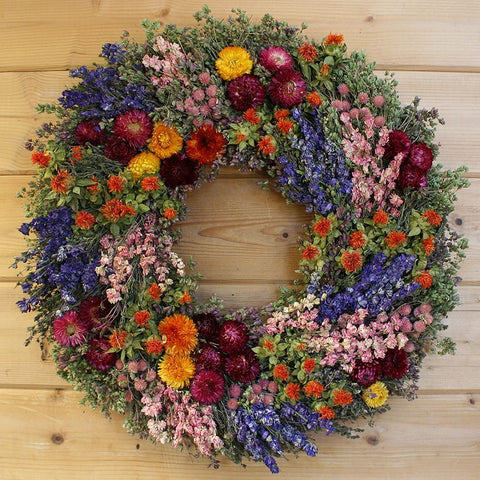 Summer's Harvest Wreath