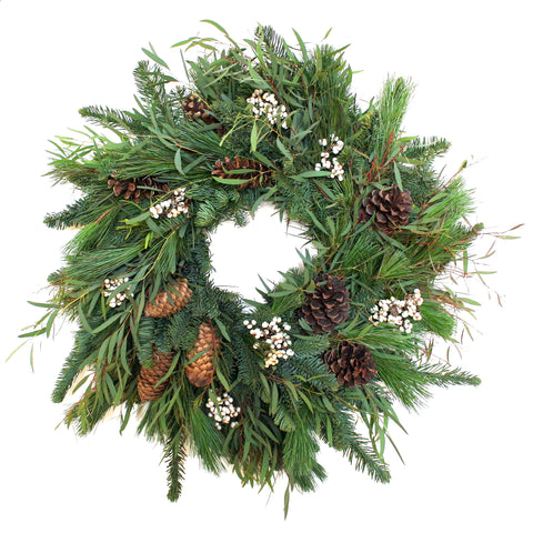 Woodland Tallow Berry Wreath
