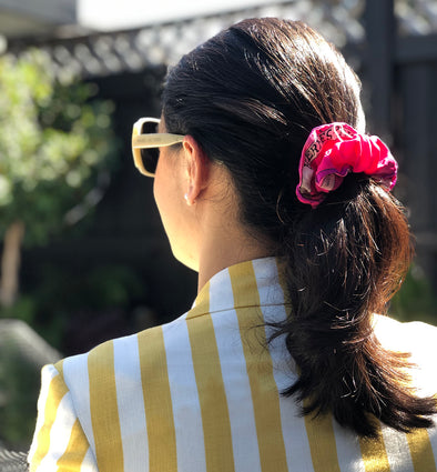 Why Silk Scrunchies Are Better For Your Hair
