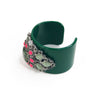 Piggi International Ava Green Acrylic Bracelet