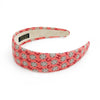 Chanel Coral Camellia Alice Headband #2