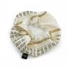 Chanel Ivory & Gold Chain Link Scarf Scrunchie