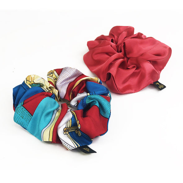 Piggi Scrunchie Duo 'Colour Me Happy'