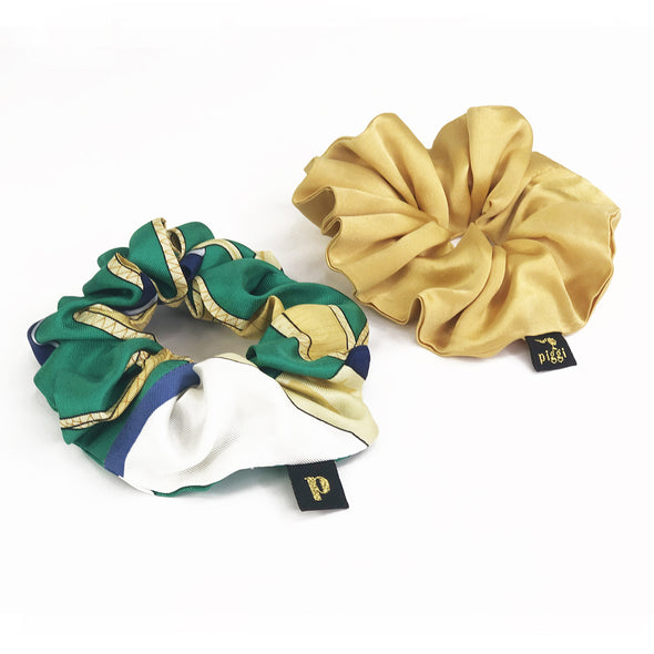 Piggi Scrunchie Duo 'My Life on a Yacht'