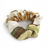 Hermès Vintage Scarf Scrunchie made from 'Coaching' in Olive