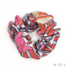 Hermès Vintage Scarf Scrunchie made from 'Etendards et Bannieres' in Pinks