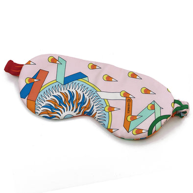 Hermès Reversible Scarf Sleep Mask made from La Source de Pegase