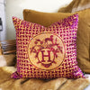 Hermès Vintage Scarf Throw Cushion 'Silk Mosaique Au 24'