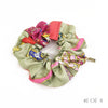 Hermès Vintage Scarf Scrunchie made from 'Qu'Import le Flacon' Hot Pink