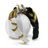 Hermès Vintage Scarf Knot Headband made from 'Springs' Black