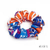 Hermès Vintage Scarf Scrunchie made from 'Ex Libris En Cravates'