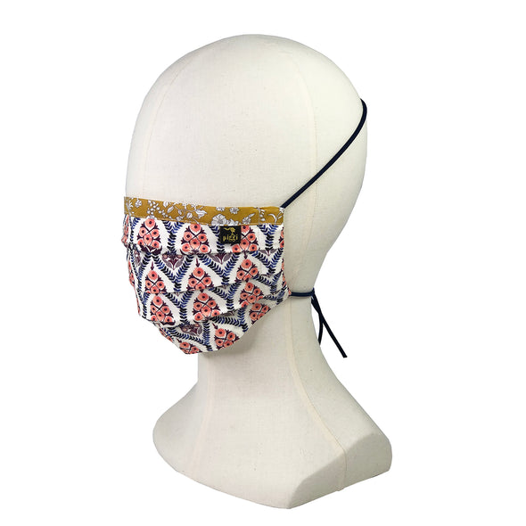 Liberty of London Bohemia Fitted Face Mask