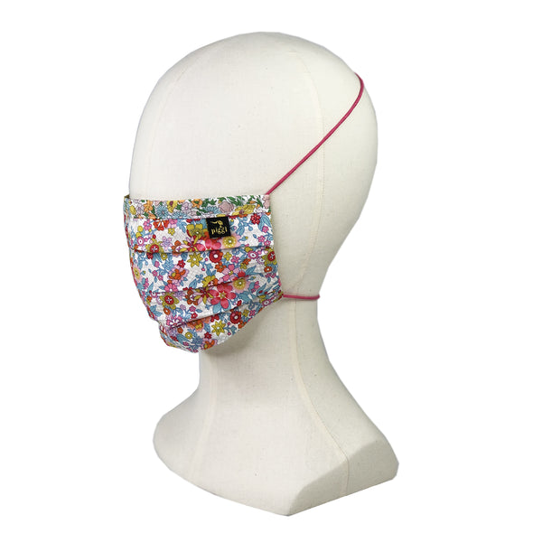 Liberty of London Floral Waltz Fitted Face Mask