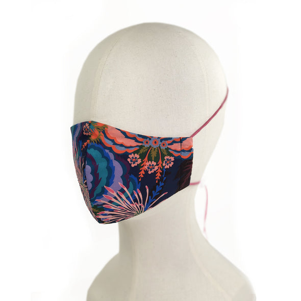 Liberty of London Natasha Coverdale Print 3 Layer Face Mask with Filter