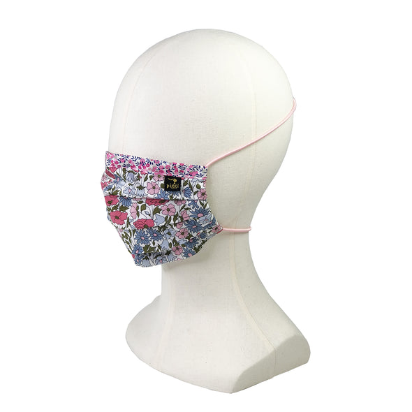 Liberty of London Poppy & Daisy Fitted Face Mask