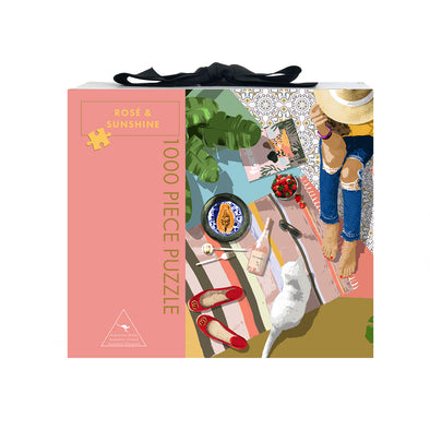Play Timeout 'Rosé & Sunshine' 1000 Piece Jigsaw Puzzle