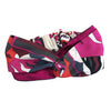 Pucci Vintage Scarf Turban Headband in Magenta & Red Swirls